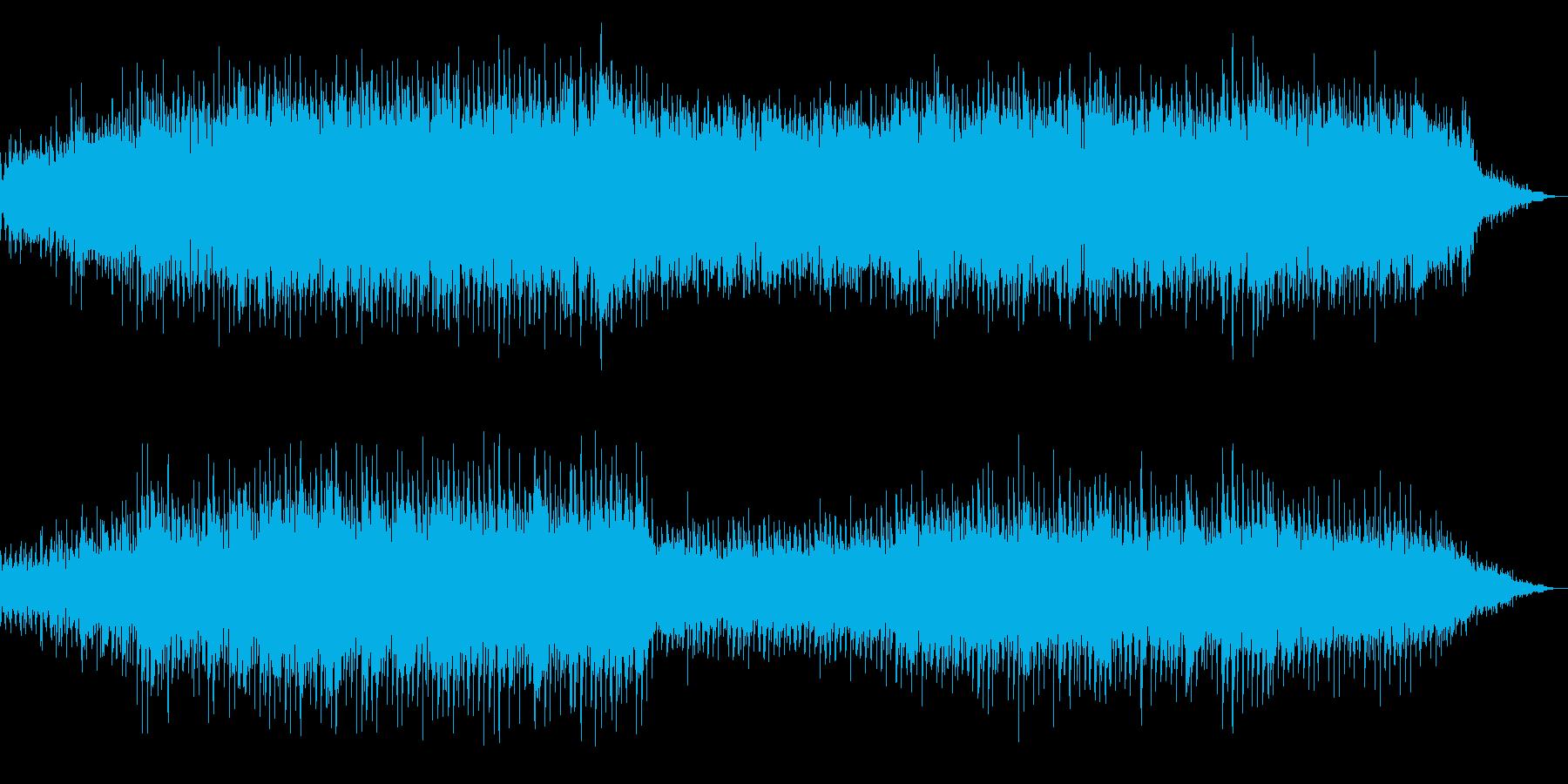 ポップ テクノ アンビエント ドラ...の再生済みの波形