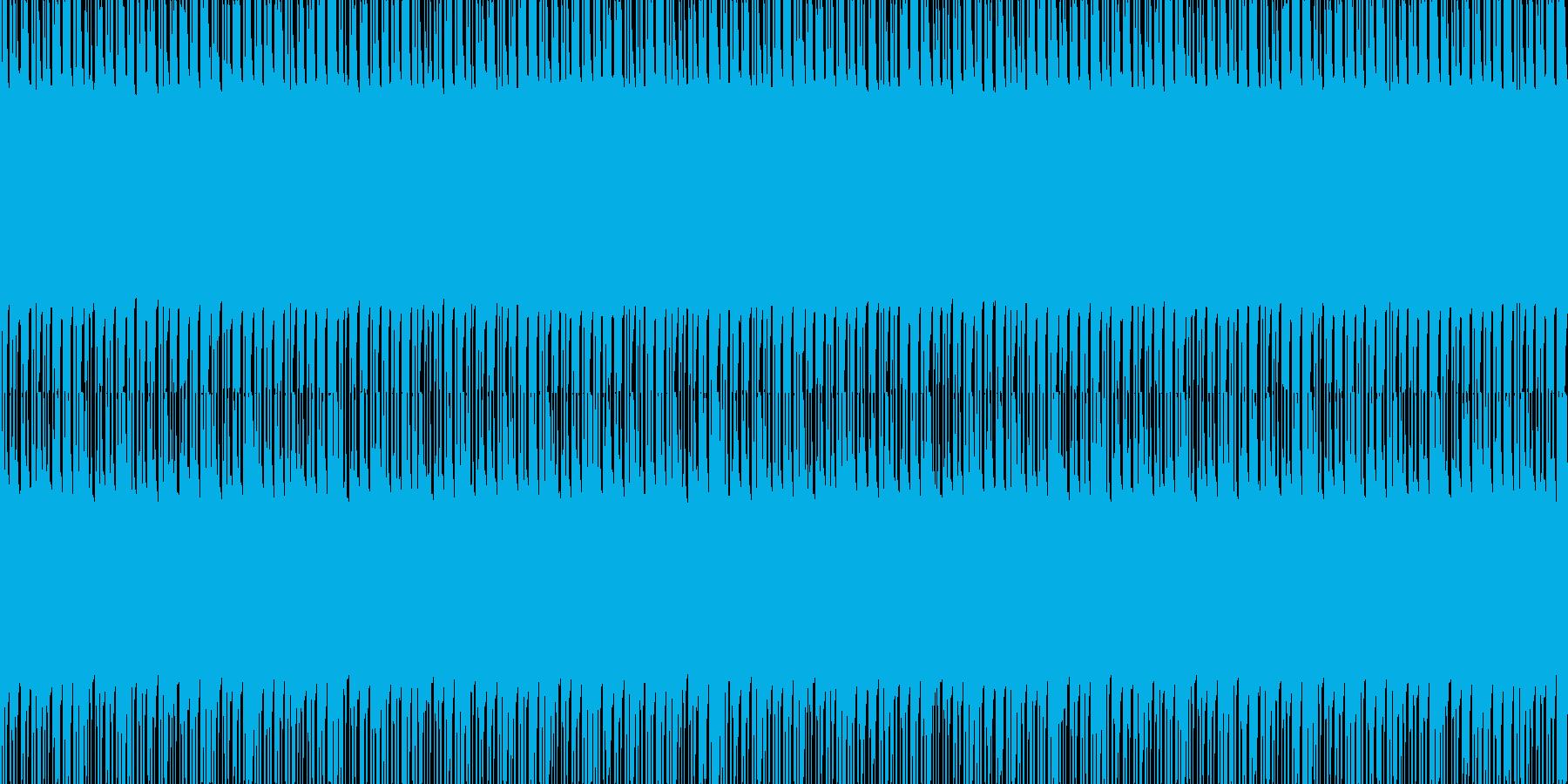 ラップしたくなるビートの再生済みの波形