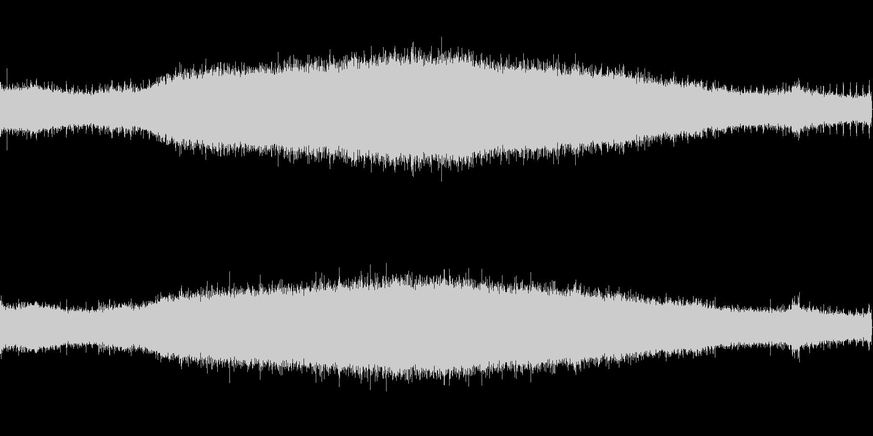 【生音】夏の日の通行音 - 6 「みー…の未再生の波形
