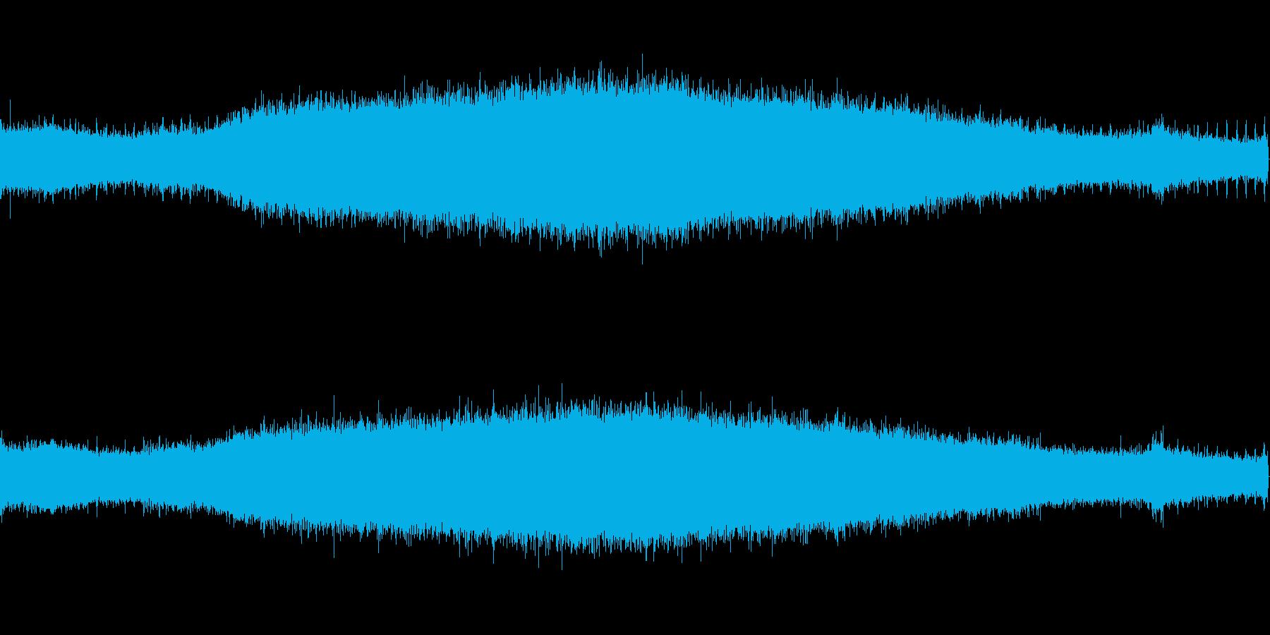 【生音】夏の日の通行音 - 6 「みー…の再生済みの波形