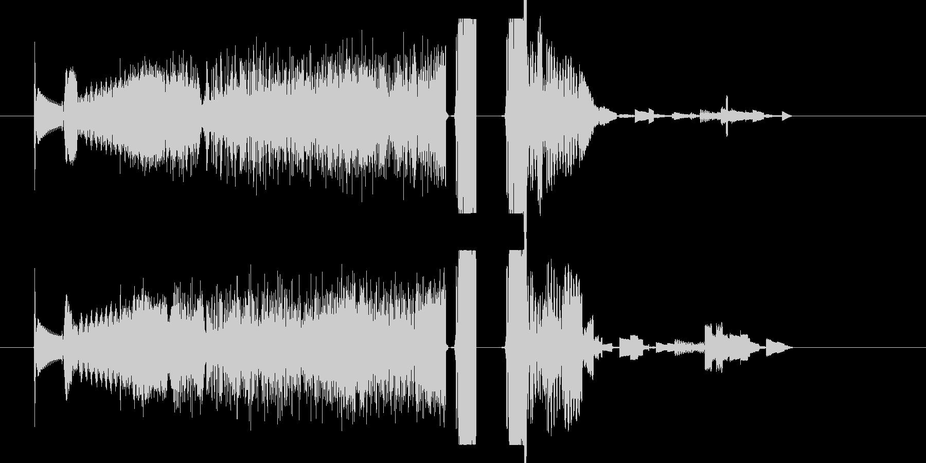 FMジングル 海外ラジオ風 DJ 効果音の未再生の波形