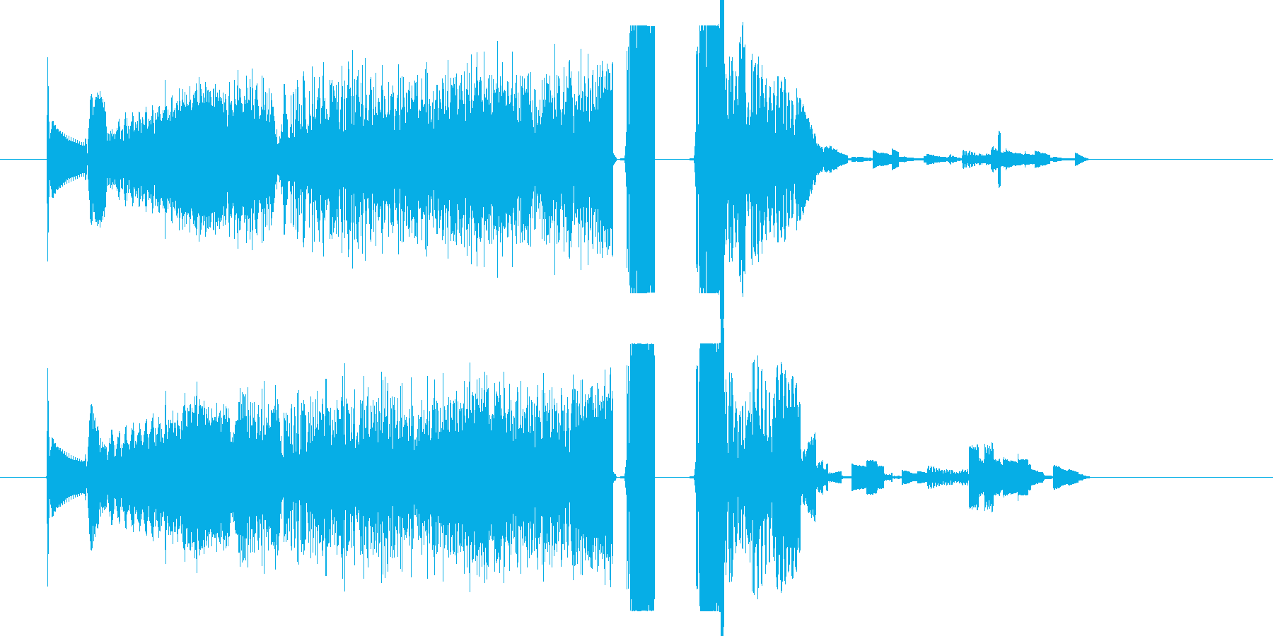 FMジングル 海外ラジオ風 DJ 効果音の再生済みの波形