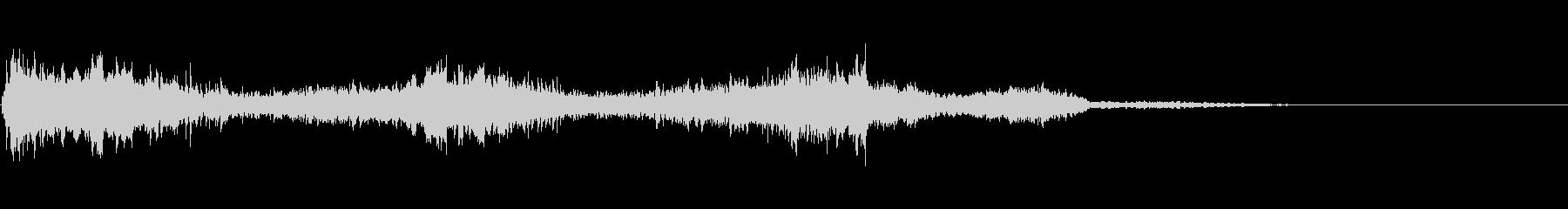 汎用的な魔法音(音程低め)の未再生の波形