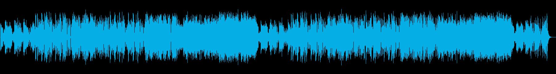 ファンキーなフュージョンの再生済みの波形