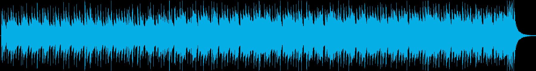 軽快爽やか楽しい夏ハワイレゲエラテン曲cの再生済みの波形