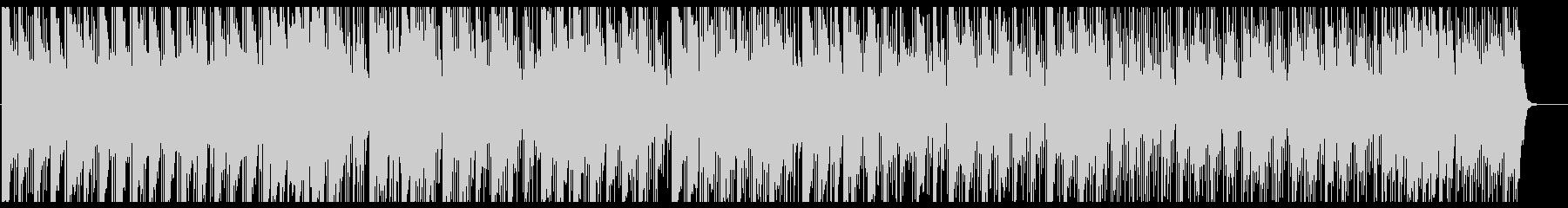 マレット音とシンセのゆったりポップスの未再生の波形