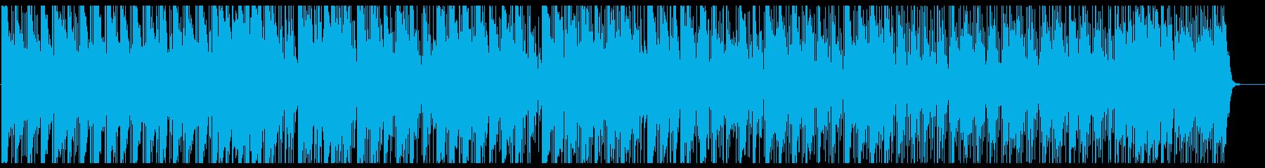 マレット音とシンセのゆったりポップスの再生済みの波形