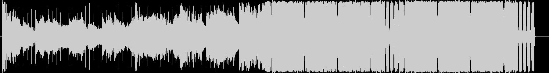 4つ打ちハウス/EDMのお洒落な曲の未再生の波形