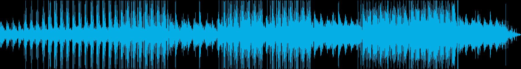 レトロ・ブルージーでチルLoFiなBGMの再生済みの波形