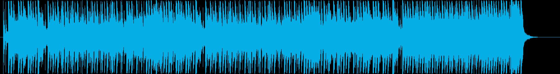 ポップな童謡「かたつむり」の再生済みの波形