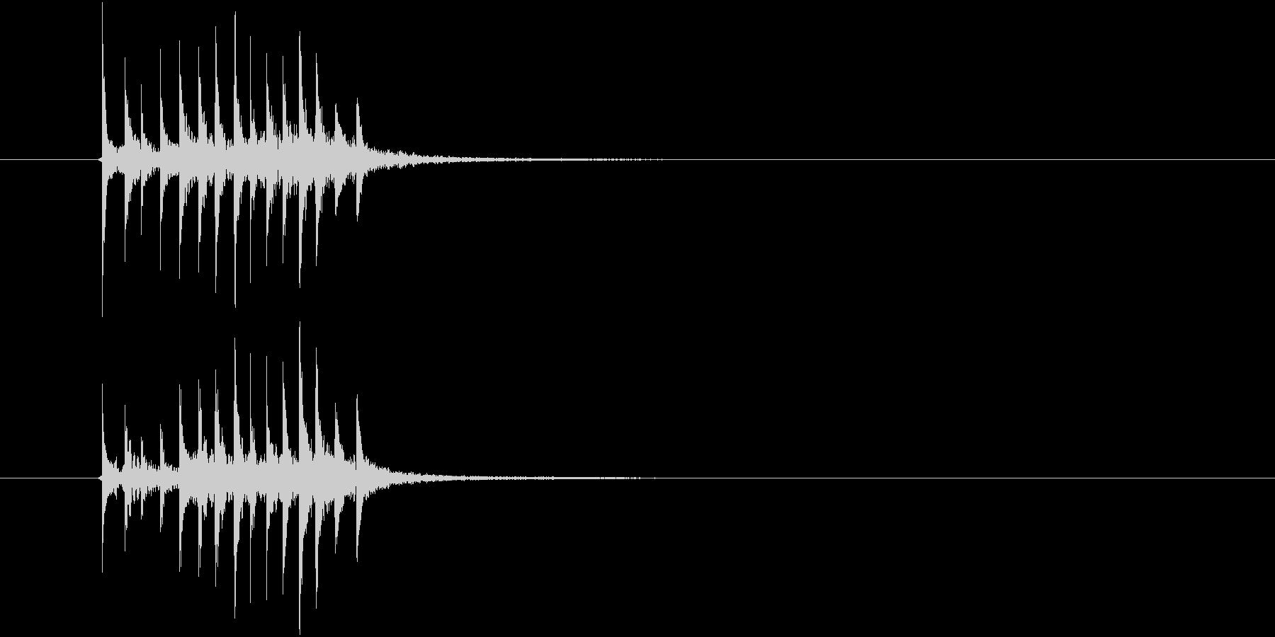 場面展開2(シロフォン)の未再生の波形