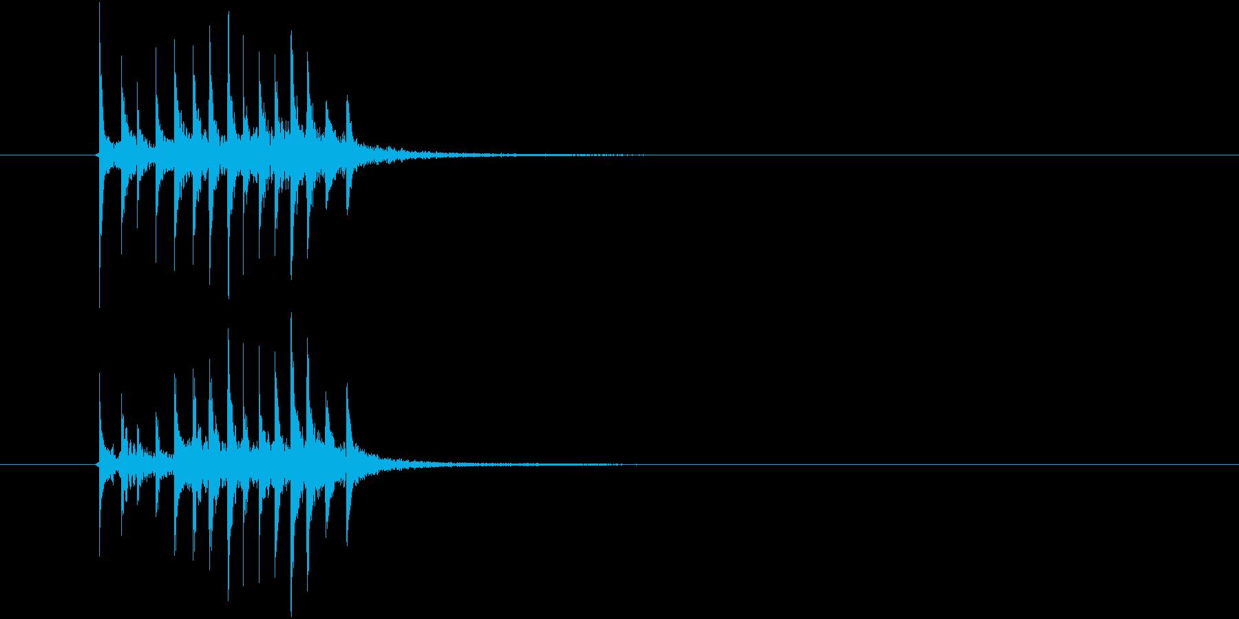 場面展開2(シロフォン)の再生済みの波形