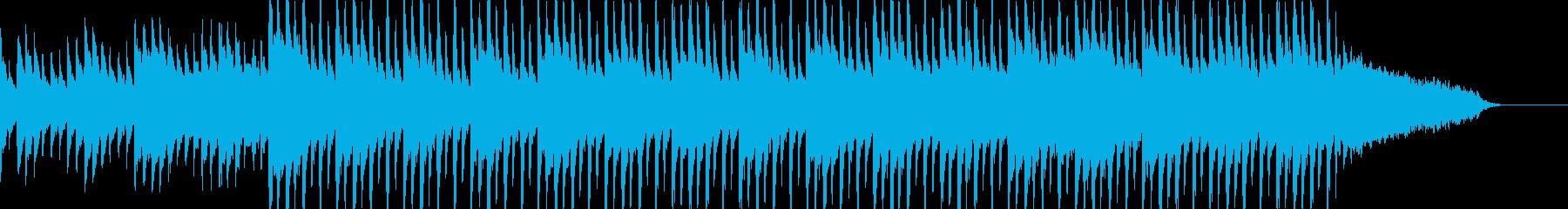 企業VP CM 前向き ピアノBGMの再生済みの波形
