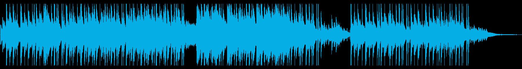 切ないピアノメインのHIPHOP風の再生済みの波形