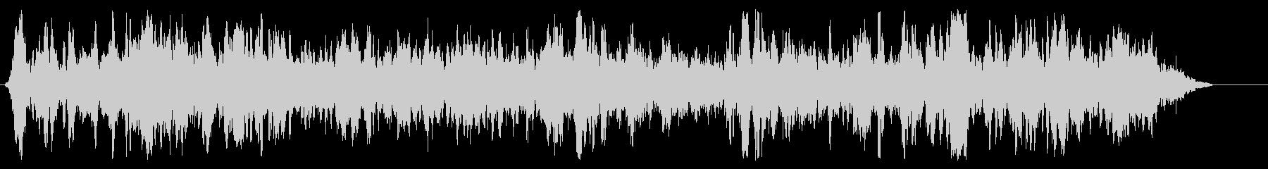 バッスル5内側の柔らかい雑音の未再生の波形