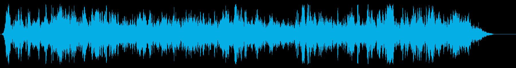 バッスル5内側の柔らかい雑音の再生済みの波形
