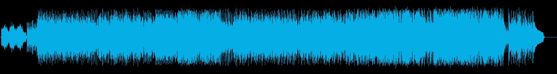 哀愁味を帯びた南米アンデス風サウンドの再生済みの波形