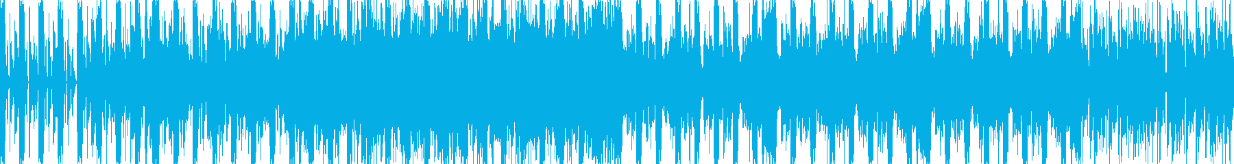 アニメーションやムービーで使えるEDMの再生済みの波形