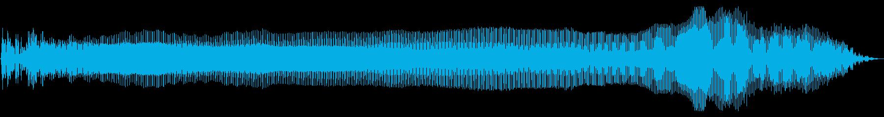 フーワ 上昇 ワウ トランペットの再生済みの波形