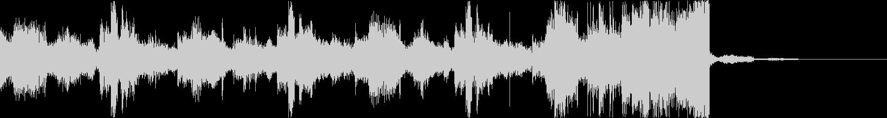 チルアウトクールなトロピカルハウスeの未再生の波形