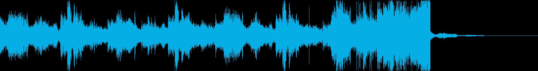 チルアウトクールなトロピカルハウスeの再生済みの波形