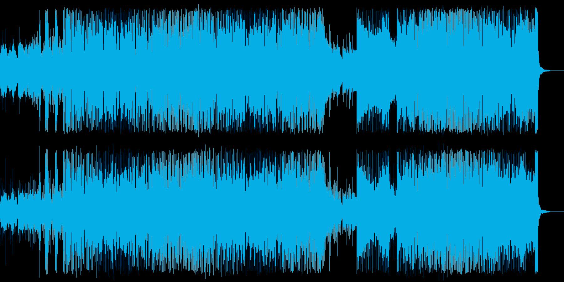 グロッケンの幻想的でテクニカルなロックの再生済みの波形