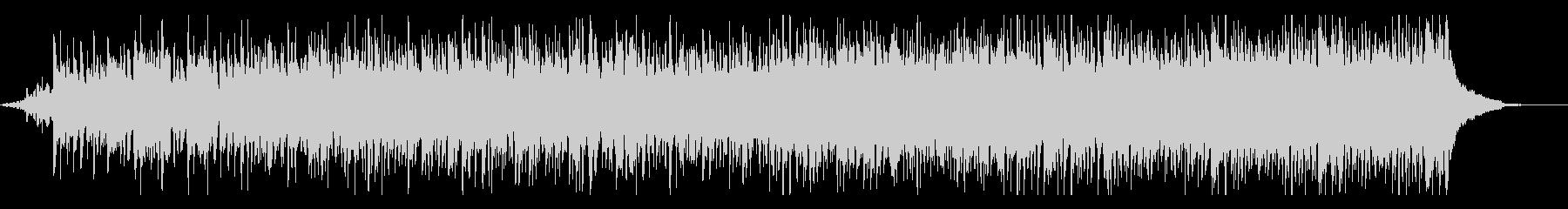 伝統的で陽気なフォークミュージックの未再生の波形