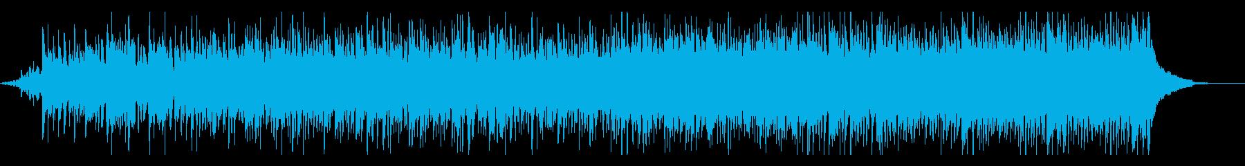 伝統的で陽気なフォークミュージックの再生済みの波形