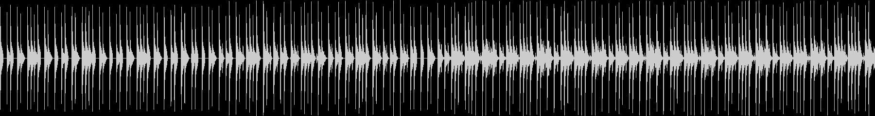 使い勝手のいいドラムループの未再生の波形