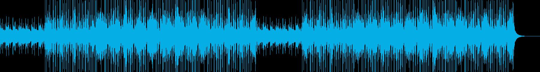 おしゃれなクラブジャズ風の再生済みの波形