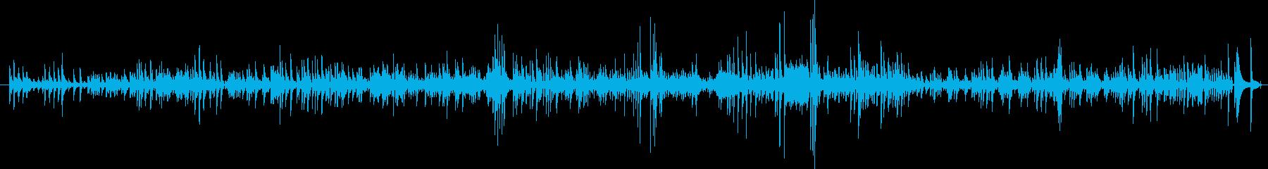 昔のジャズピアノトリオの再生済みの波形
