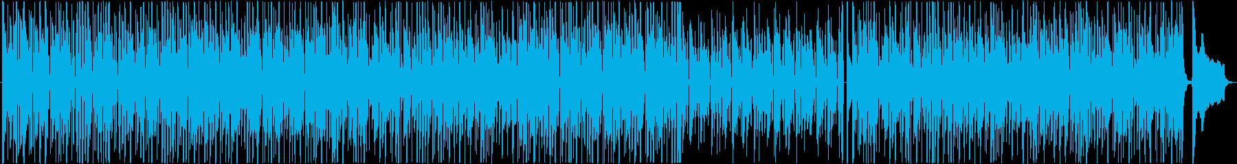 クールでクルージング、ミッドテンポ...の再生済みの波形