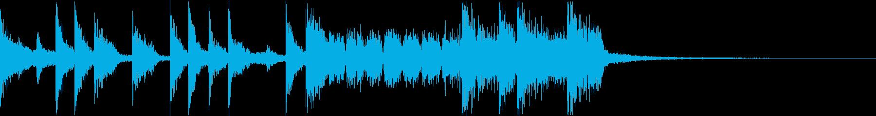 クールでおしゃれなジャズファンクの再生済みの波形