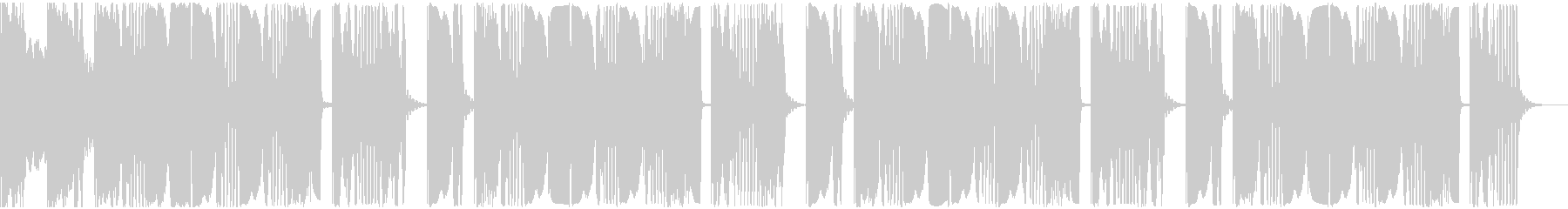 【アンビエント】ロング2、ショート2の未再生の波形