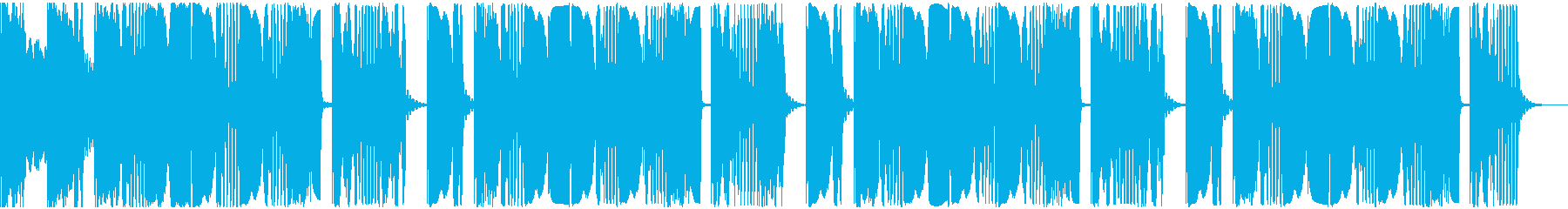 【アンビエント】ロング2、ショート2の再生済みの波形