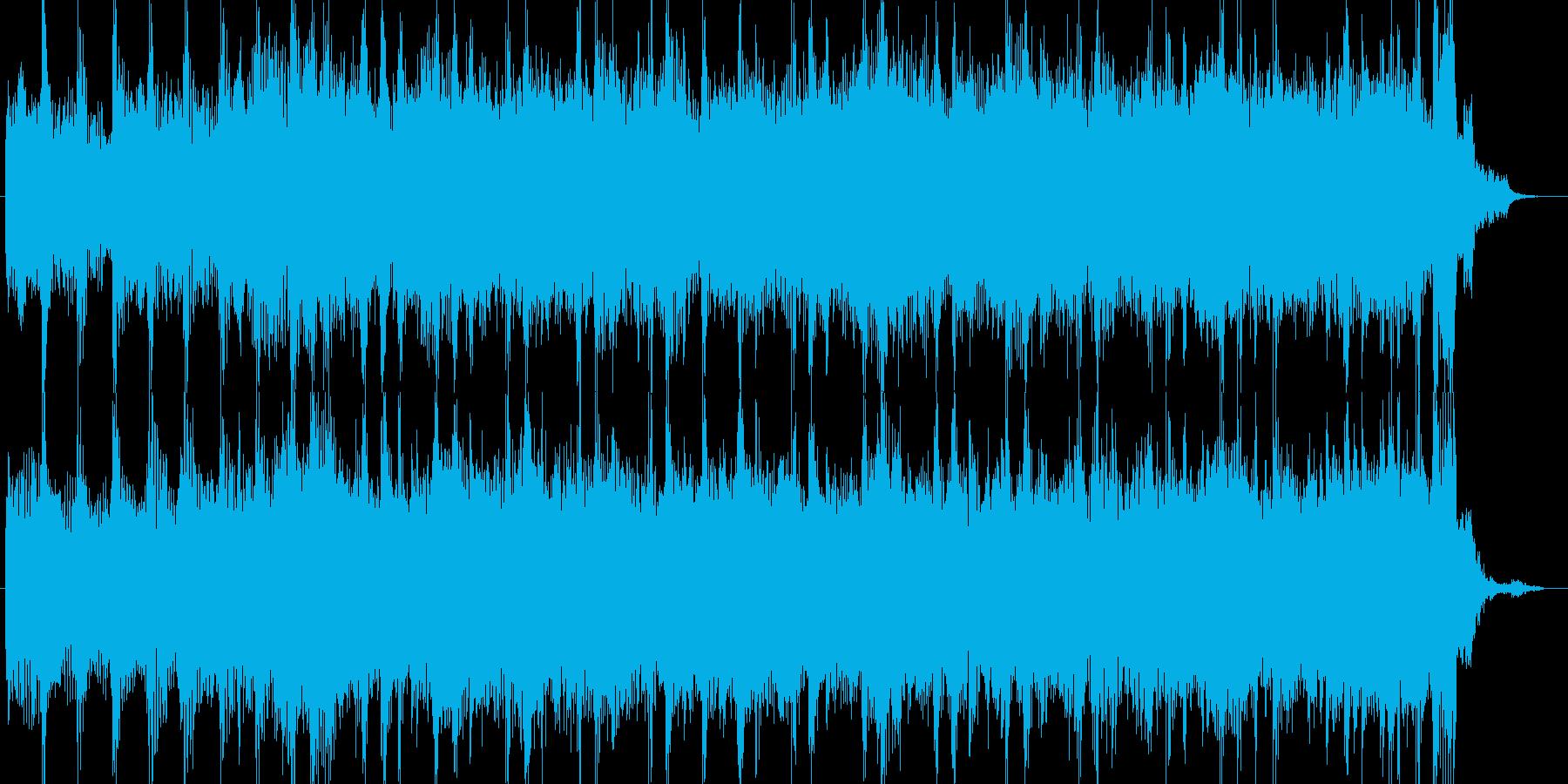 ロックCM青春ジングル出囃子の再生済みの波形