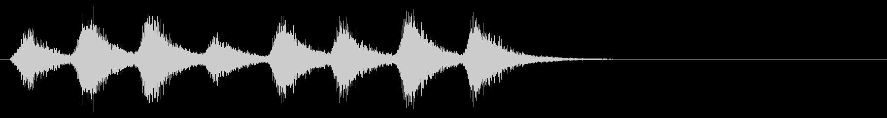 ドラゴンの羽ばたき2_リバーブの未再生の波形
