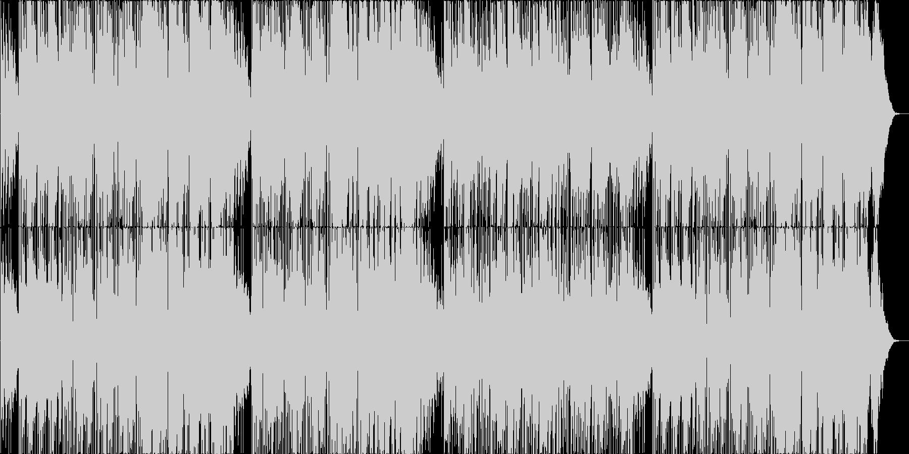 70年代ファンク系スムースジャズの未再生の波形