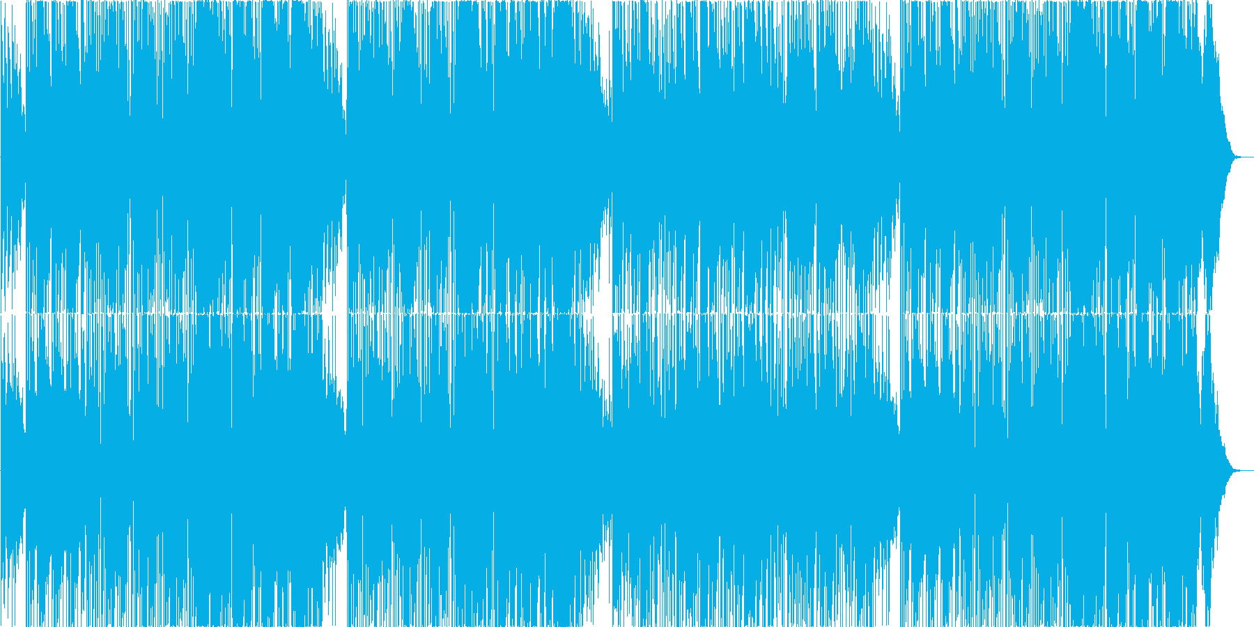 70年代ファンク系スムースジャズの再生済みの波形
