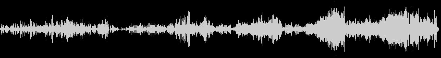 ショパン バラード Op47の未再生の波形
