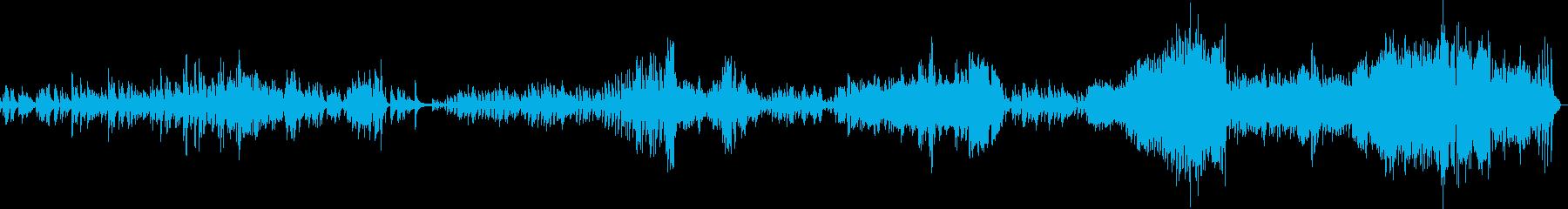ショパン バラード Op47の再生済みの波形