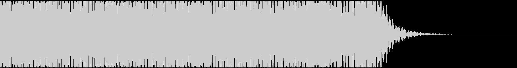 【エレクトロニカ】電子テクノ、ジングル4の未再生の波形