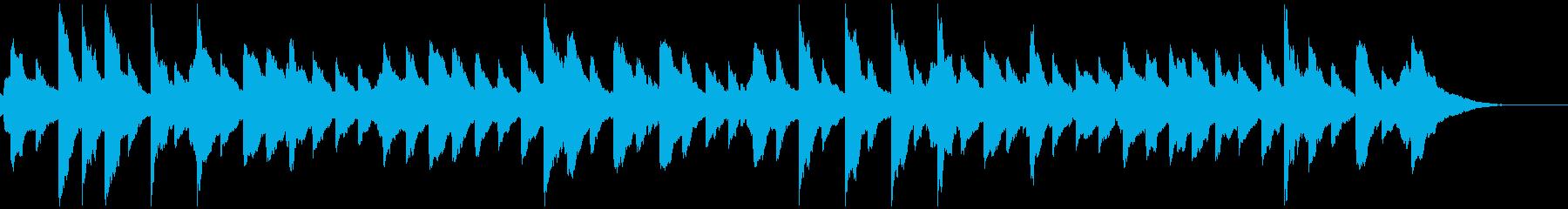 ハッシュ・リトル・ベイビー オルゴールの再生済みの波形