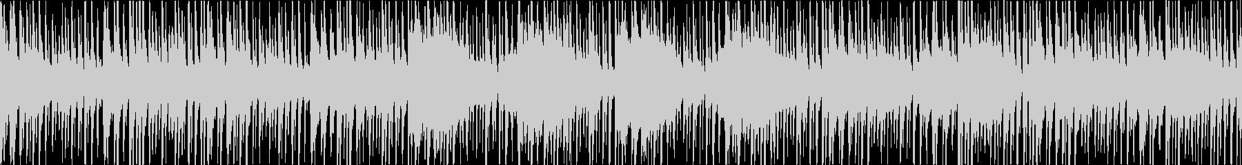 三味線等の和楽器を使ったアッパー和風曲の未再生の波形