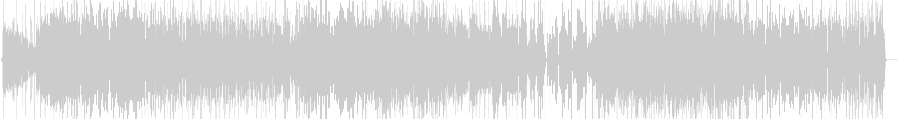 大人な雰囲気のアシッドジャズ2の未再生の波形