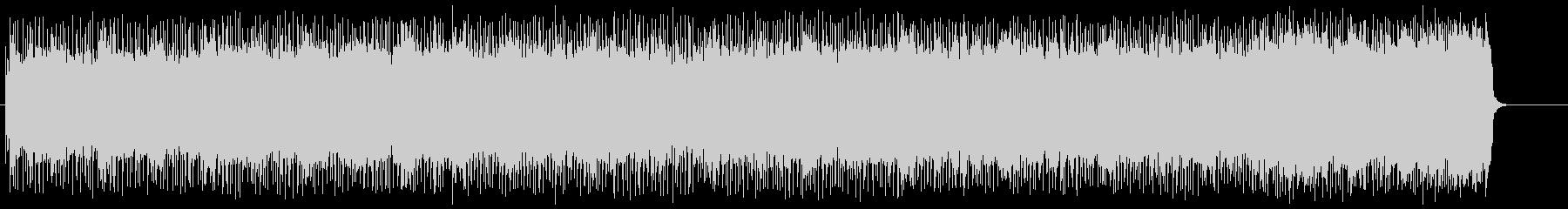 激闘マイナー・ファンク・メタルの未再生の波形