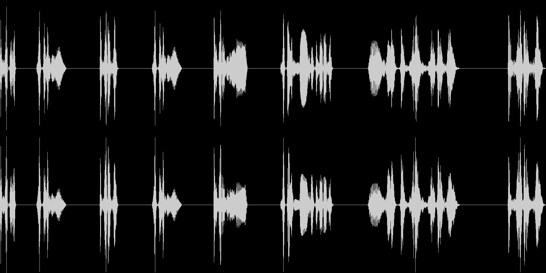 レーザー研削、8バージョン、レーザ...の未再生の波形