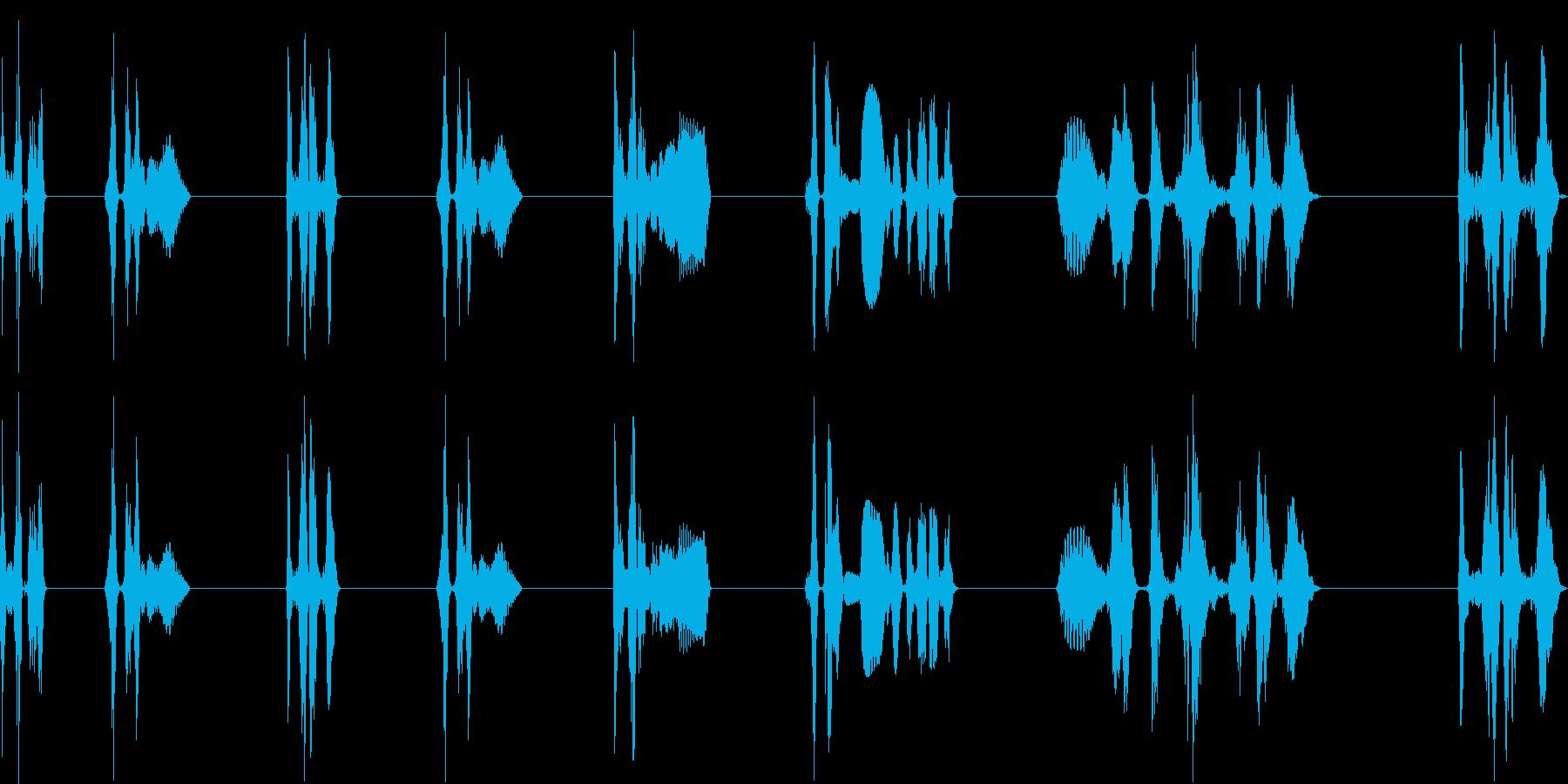 レーザー研削、8バージョン、レーザ...の再生済みの波形