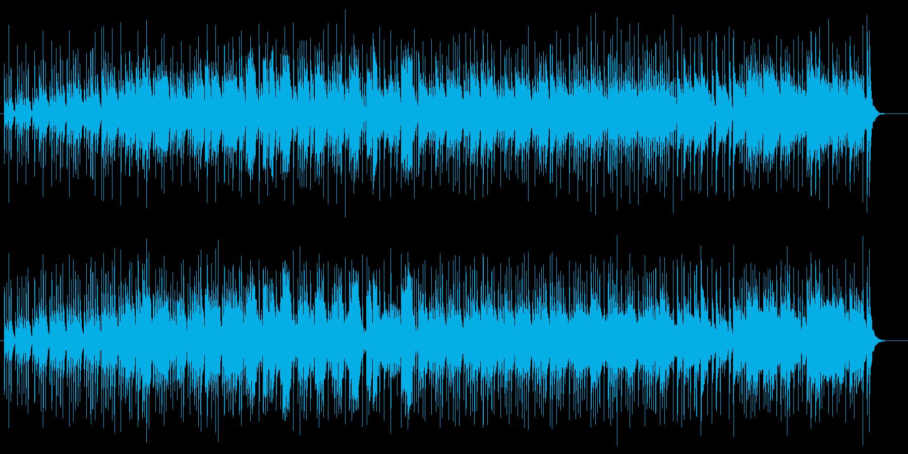 明るくてオーソドックス感のあるポップ曲の再生済みの波形