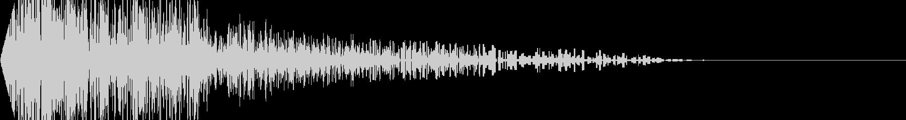 ボーン!(爆発/ノイズ/衝撃/ファミコンの未再生の波形